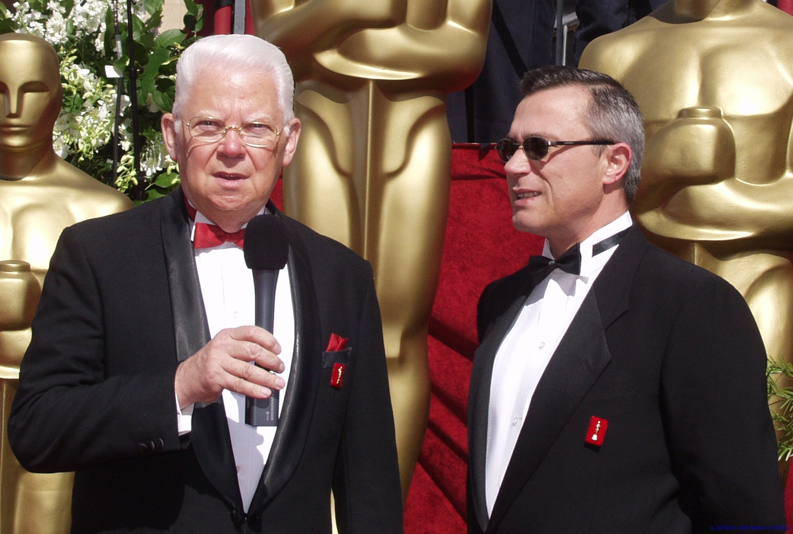 bill & tony at the oscars