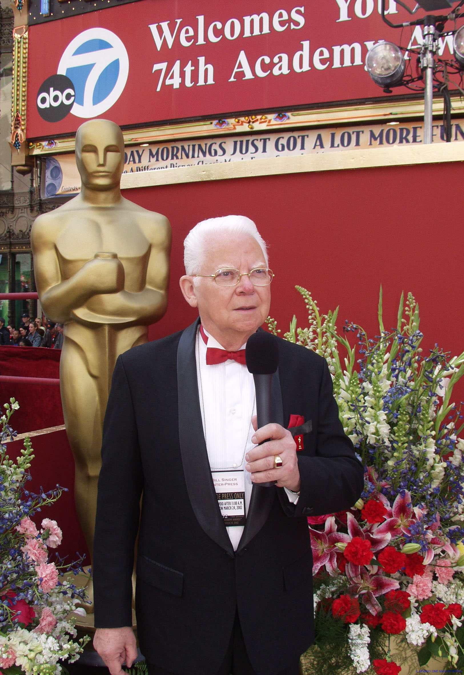 bill reporting at the oscars
